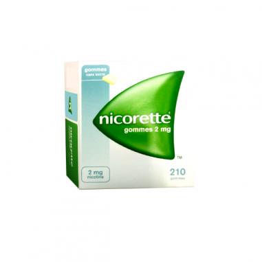 NICORETTE 2 mg 210 CHICLES...