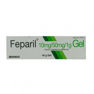 FEPARIL 10 mg/g + 50 mg/g GEL CUTANEO...