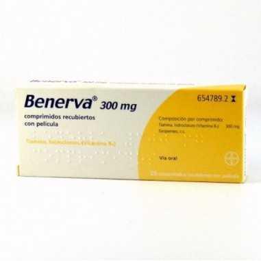 BENERVA 300 mg 20 COMPRIMIDOS...
