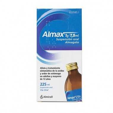 ALMAX 1 g/7,5 ml SUSPENSION ORAL 1...