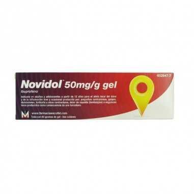 NOVIDOL 50 mg/g GEL CUTANEO 1 TUBO 60 g
