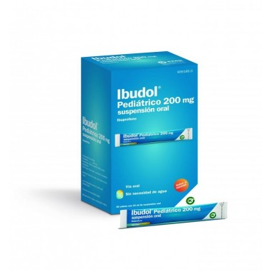 IBUDOL PEDIATRICO 200 MG 20 SOBRES...