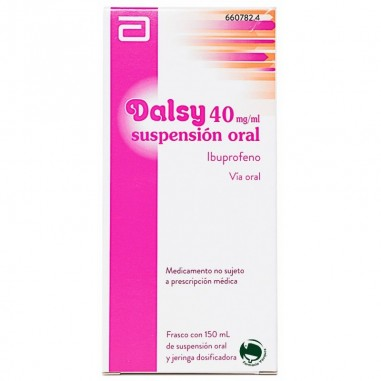 DALSY 40 mg/ml SUSPENSION ORAL 1...
