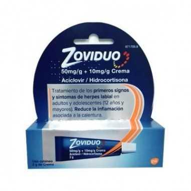 ZOVIDUO 50 mg/g + 10 mg/g CREMA 1...