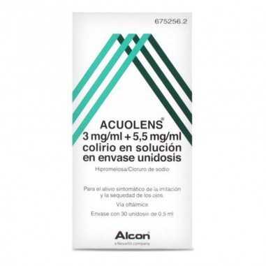 ACUOLENS 3 mg/ml + 5,5 mg/ml COLIRIO...