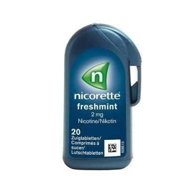 NICORETTE SUPERMINT EFG 2 MG 20...