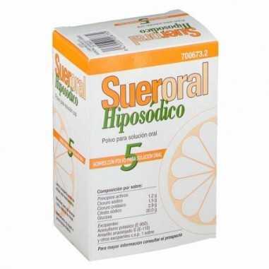 SUERORAL HIPOSODICO 5 SOBRES POLVO...