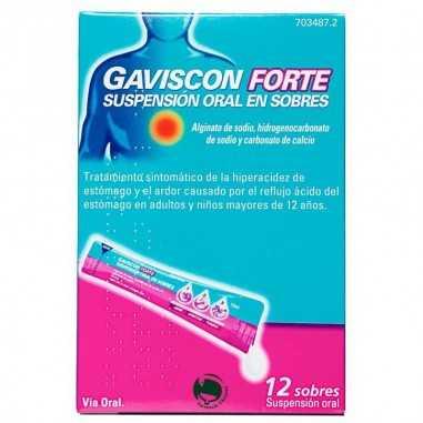 GAVISCON FORTE 12 SOBRES SUSPENSION...