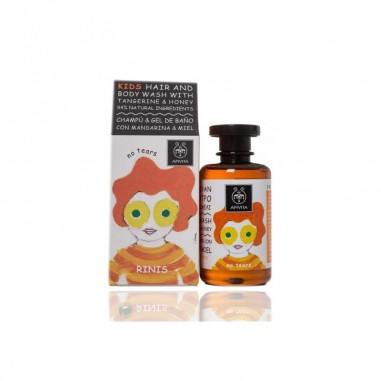 APIVITA KIDS CHMPU Y GEL DE BAÑO 250 ML