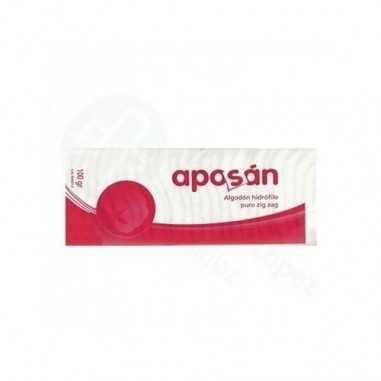 ALGODON ZIG-ZAG PURO APOSAN 100 G