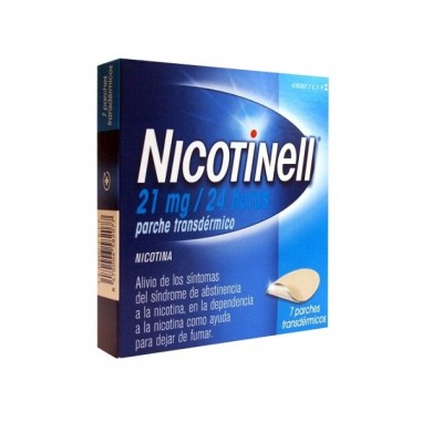NICOTINELL 21 mg/24 h 7 PARCHES...