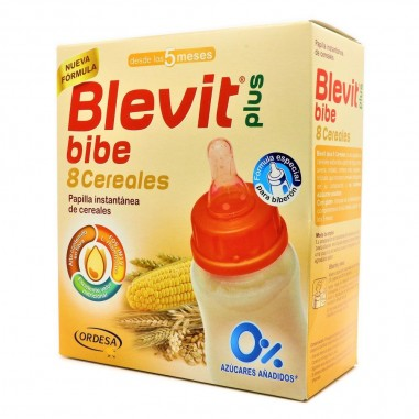 Blevit Plus 8 Cereales para Biberón 2...