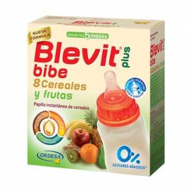 BLEVIT 8 CEREALES Y FRUTAS BIBE