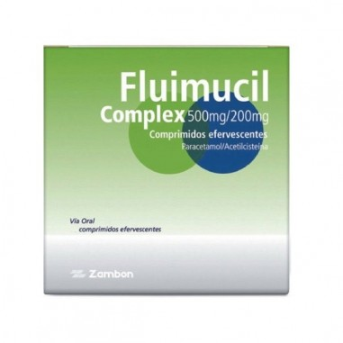 FLUIMUCIL COMPLEX 500 mg/200 mg 12...