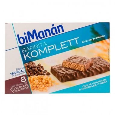 Bimanan Barritas Chocolate Crujiente...
