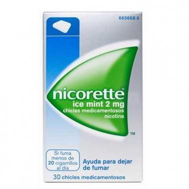 NICORETTE ICE MINT 2 mg 30 CHICLES...