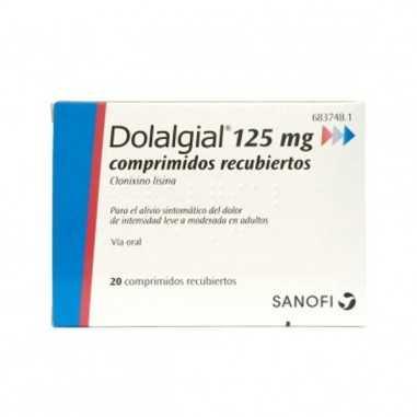 DOLALGIAL CLONIXINO LISINA 125 mg 20...