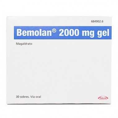 BEMOLAN 2000 mg 30 SOBRES GEL ORAL