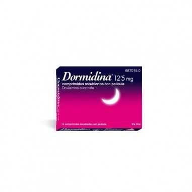 DORMIDINA 12,5 mg 14 COMPRIMIDOS...