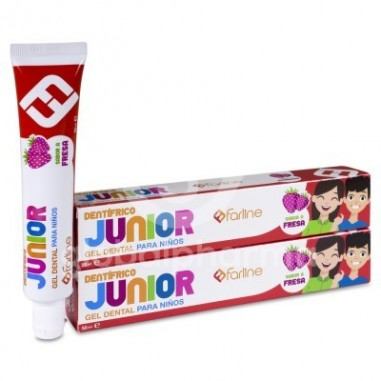 Farline Duplo Gel Dental Junior 2x50ml