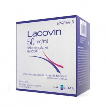 LACOVIN 50 MG/ML SOLUCION CUTANEA 4...