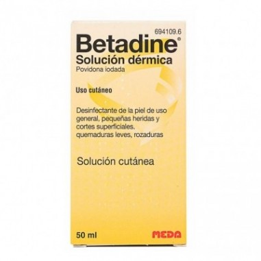 BETADINE 100 MG/ML SOLUCION TOPICA 1...