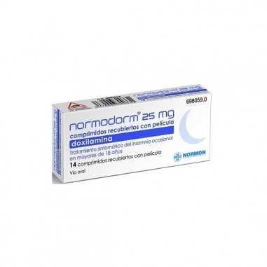 NORMODORM 25 MG 14 COMPRIMIDOS...