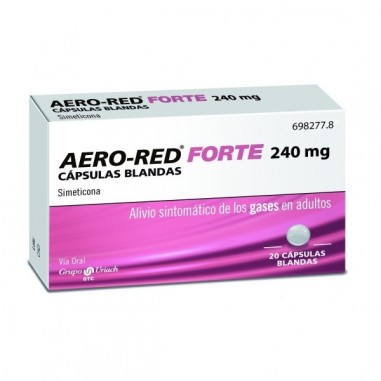 AERO RED FORTE 240 MG 20 CAPSULAS...