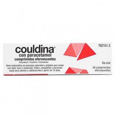 COULDINA CON PARACETAMOL 650 mg/4...