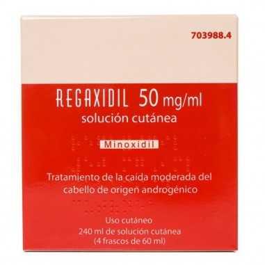 REGAXIDIL 50 MG/ML SOLUCION CUTANEA 4...