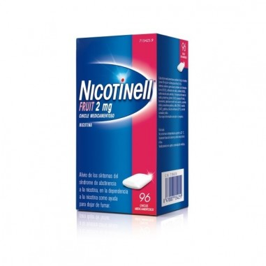 NICOTINELL FRUIT 2 MG 96 CHICLES...