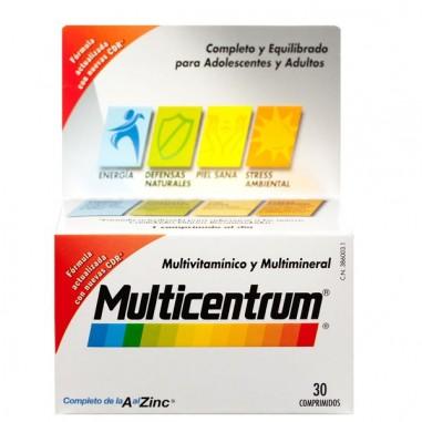 Multicentrum con Luteina 30 Comprimidos