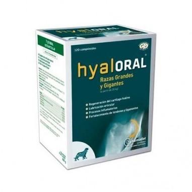 HYALORAL RAZAS GRANDES Y GIG 120 COMP
