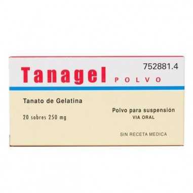 TANAGEL 250 mg 20 SOBRES POLVO PARA...