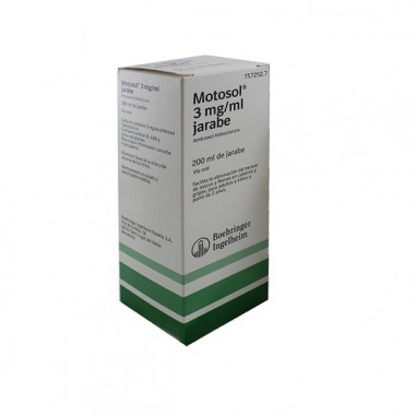 MOTOSOL 3 mg/ml JARABE 1 FRASCO 200 ml
