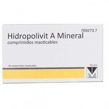 HIDROPOLIVIT A MINERAL 30 COMPRIMIDOS...