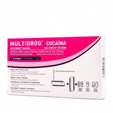 Test Multidrog Cocaína 1 Ud