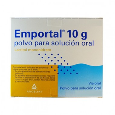 EMPORTAL 10 g 20 SOBRES POLVO PARA...