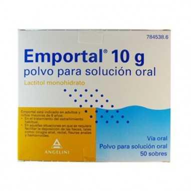 EMPORTAL 10 g 50 SOBRES POLVO PARA...