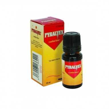 PYRALVEX 10 mg/ml + 50 mg/ml SOLUCION...