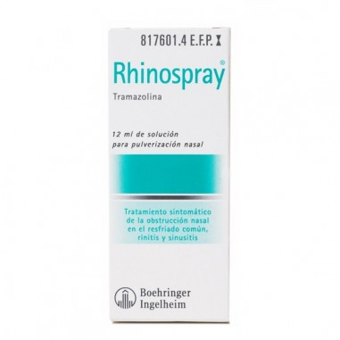 RHINOSPRAY 1.18 MG/ML NEBULIZADOR...