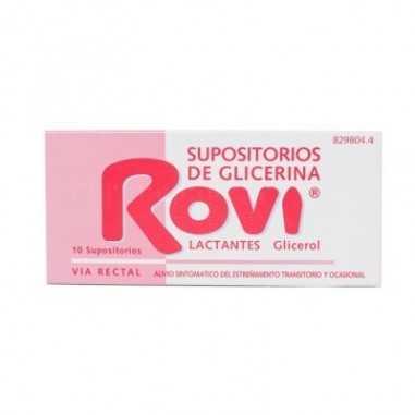 SUPOSITORIOS DE GLICERINA ROVI...