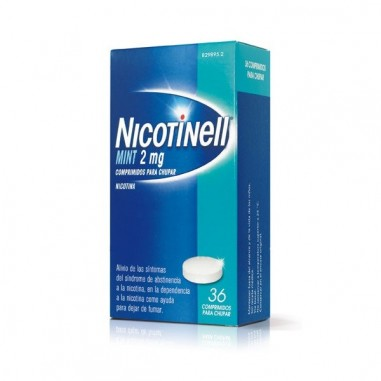 NICOTINELL MINT 2 MG 36 COMPRIMIDOS...
