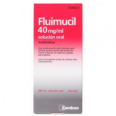 FLUIMUCIL 40 mg/ml SOLUCION ORAL 1...