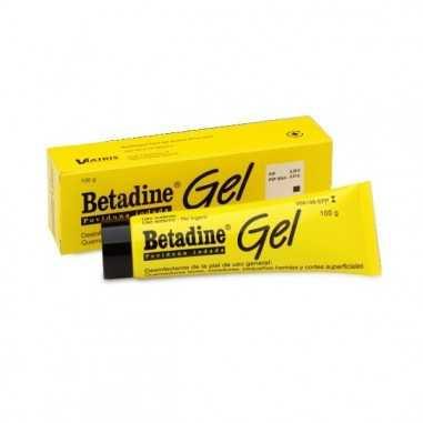 BETADINE 100 mg/g GEL CUTANEO 1 TUBO...