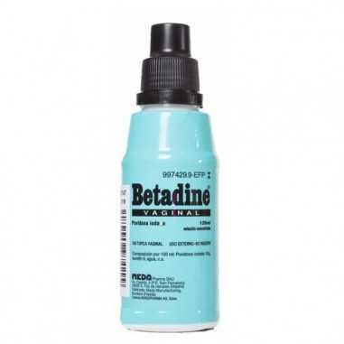 BETADINE VAGINAL 100 mg/ml SOLUCION...