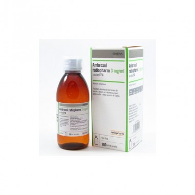 AMBROXOL RATIOPHARM EFG 3 mg/ml...