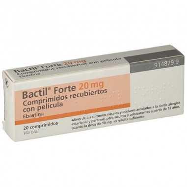 BACTIL FORTE 20 MG 20 COMPRIMIDOS...