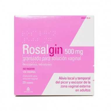 ROSALGIN 500 mg 20 SOBRES GRANULADO...