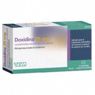 DOXIDINA 25 MG 14 COMPRIMIDOS...